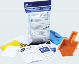 biohazard spill kit vomit and urine