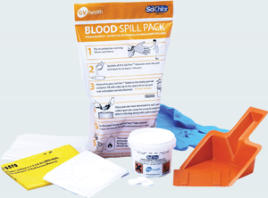 bio hazard spill kit blood
