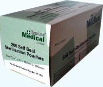 Granton Medical sterilisation pouch
