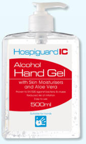 alcohold hand gel