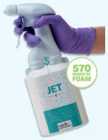 jet foam bottle